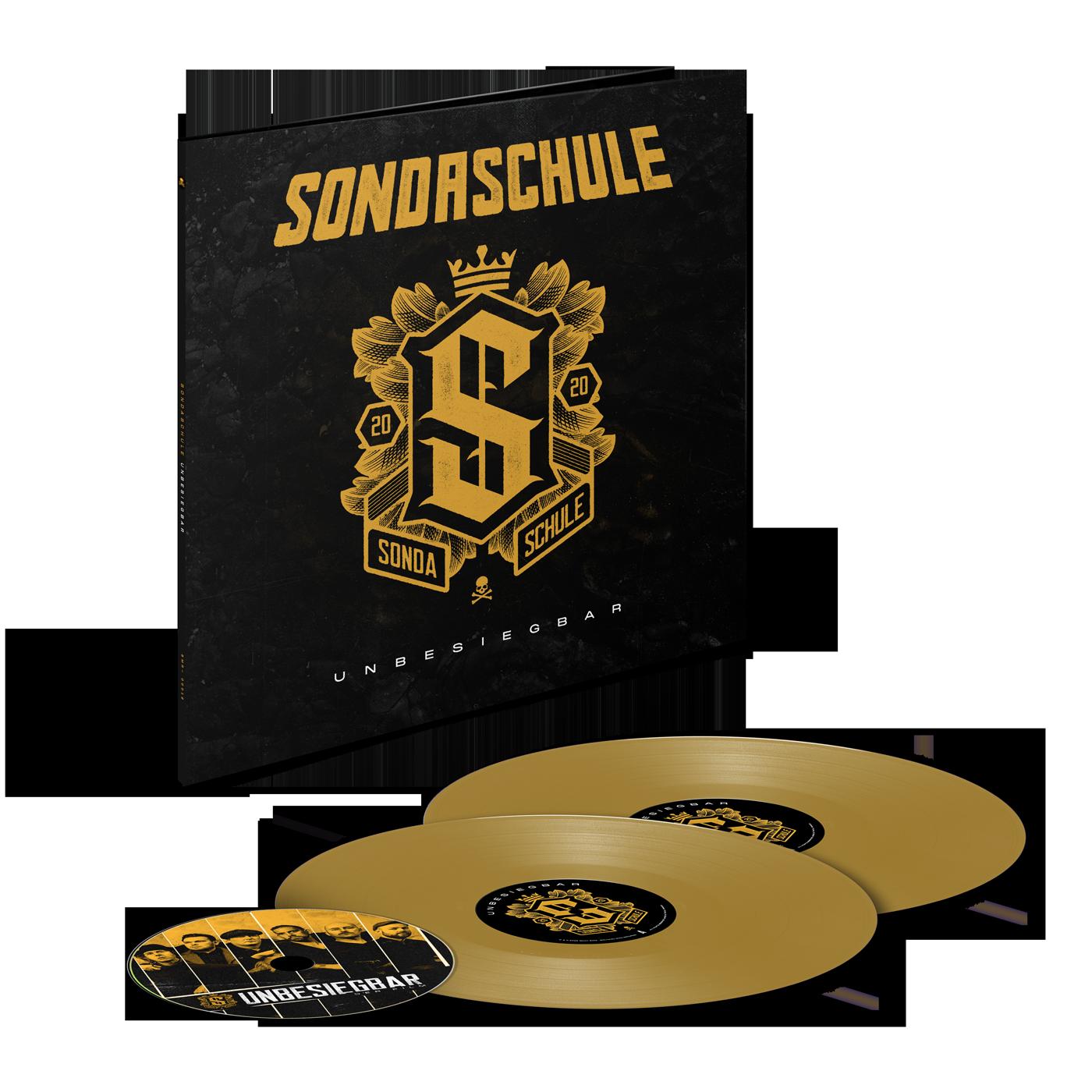 Unbesiegbar Vinyl + DVD